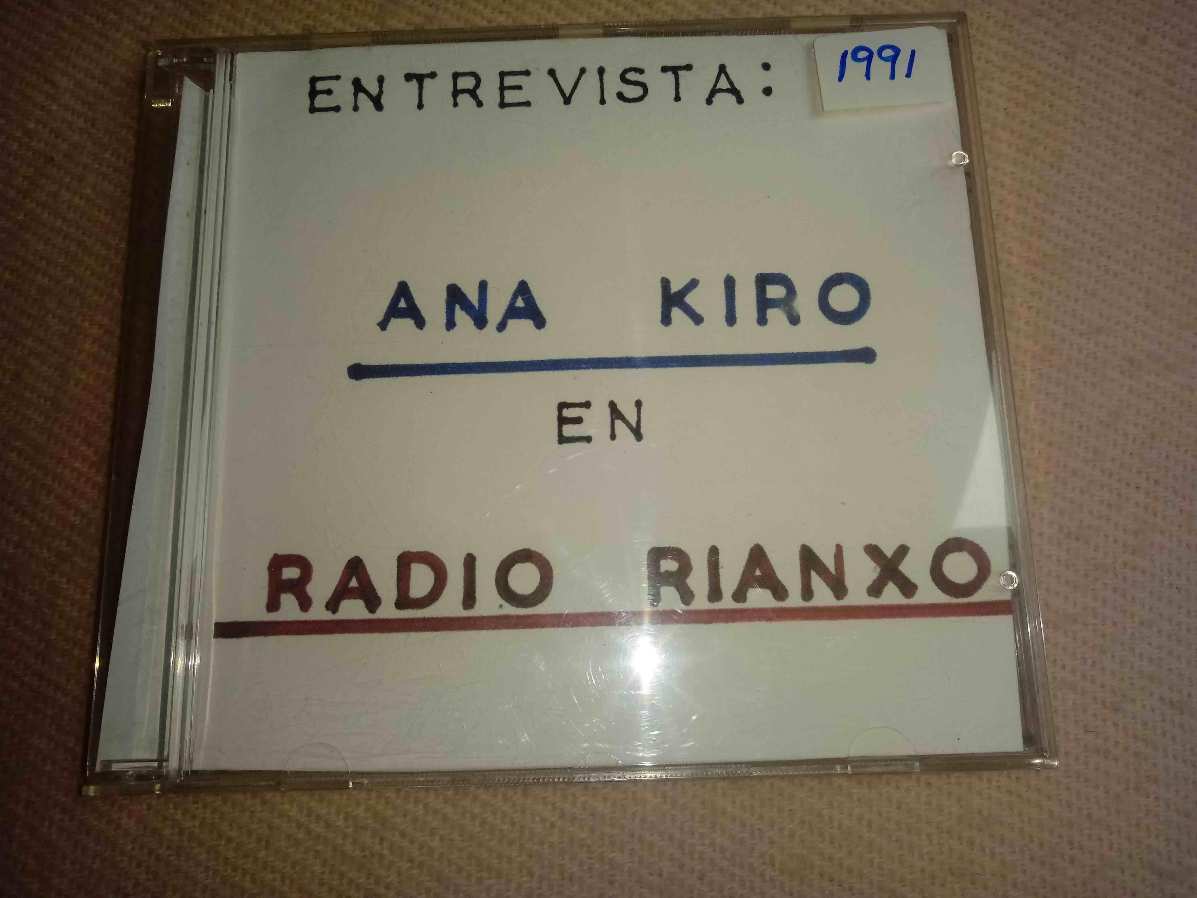 CD cun programa de Radio Rianxo