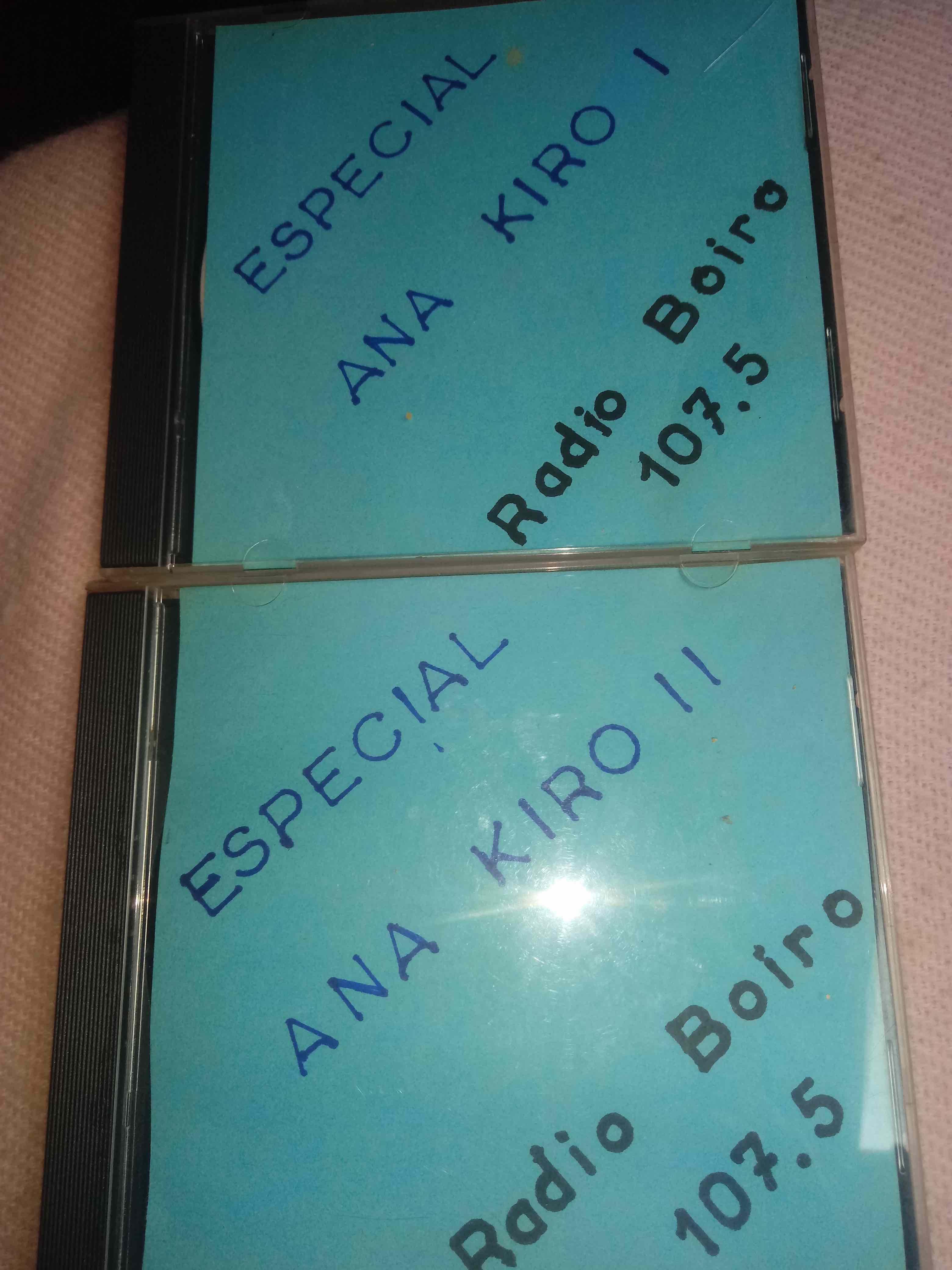 CD con programas de Radio Boiro
