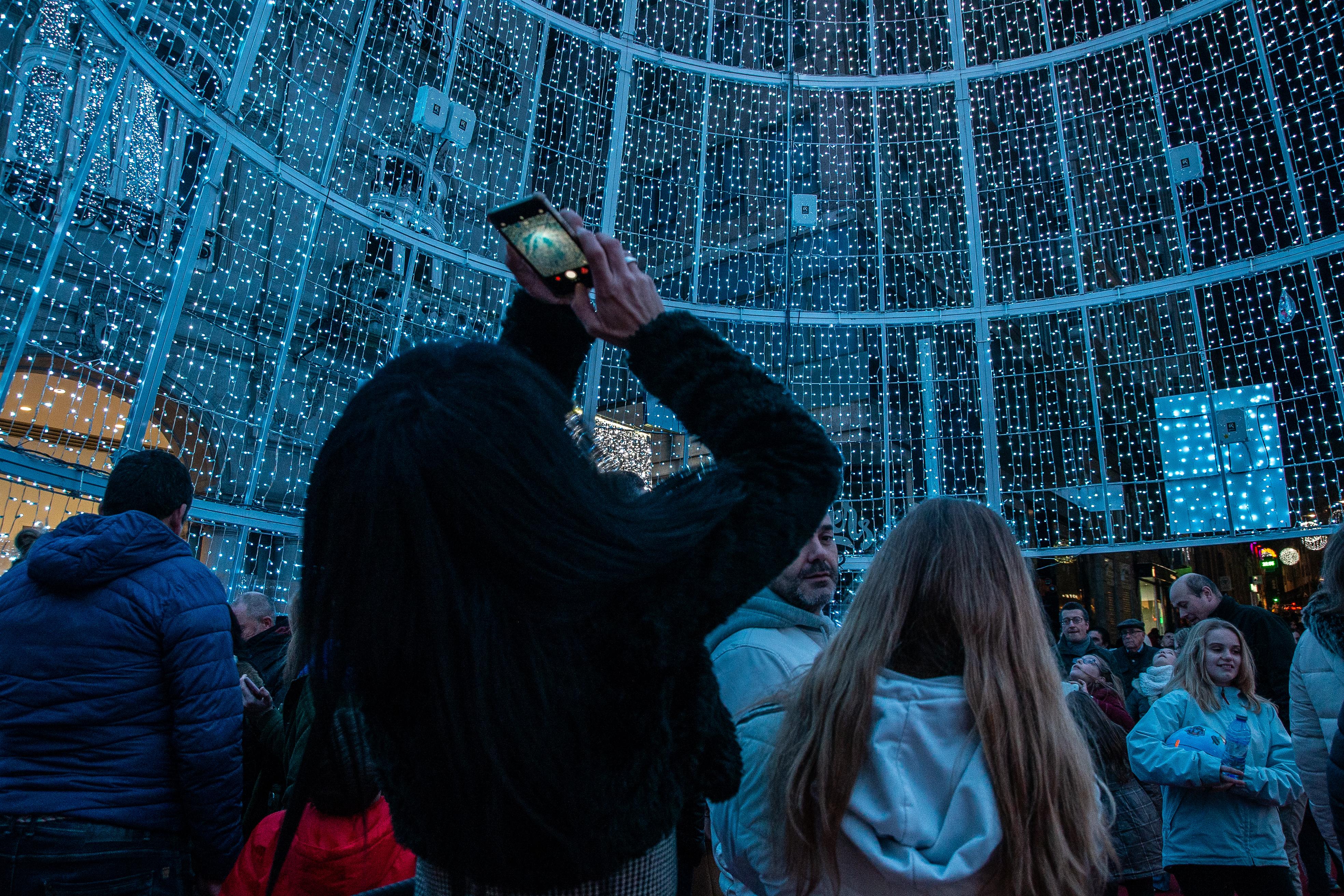 Luces de Nadal en Vigo