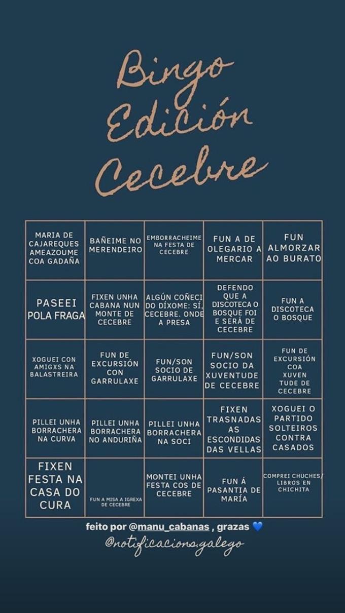 Bingo Cecebre