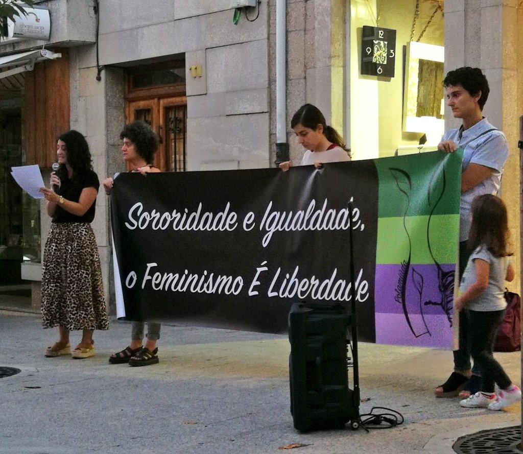 Mobilización feminista en Chantada contra os asasinatos de Valga, o 19 de setembro de 2019