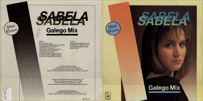 """Sabela: """"Galego Mix"""""""