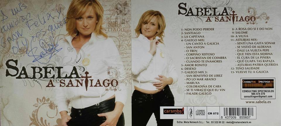 "Sabela: ""A Santiago"""